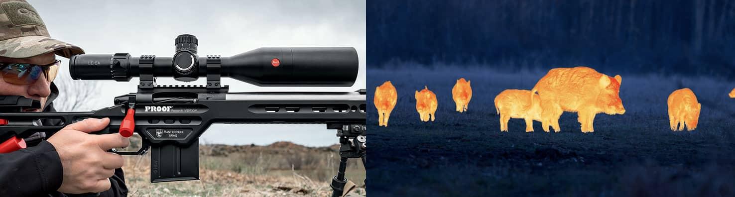 Термо камери и оптика за лов